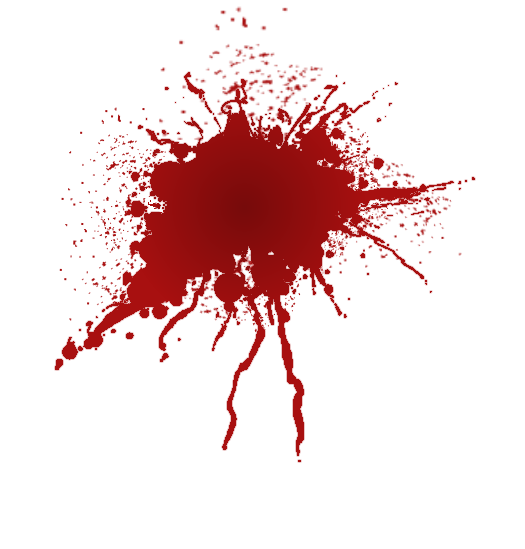 Free blood stain clipart png black and white Blood Splatter Png | Free Download Clip Art | Free Clip Art | on ... png black and white