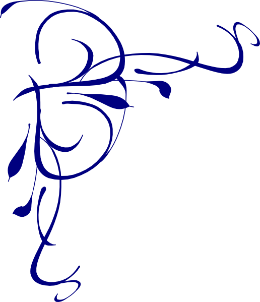 Free blue flower clipart clip library Blue Flower Border Clip Art | Clipart Panda - Free Clipart Images clip library