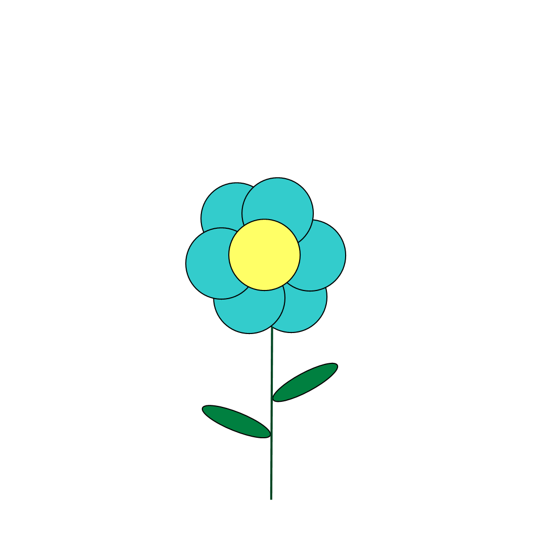 Free blue flower clipart vector freeuse download Free Clipart N Images: October 2011 vector freeuse download