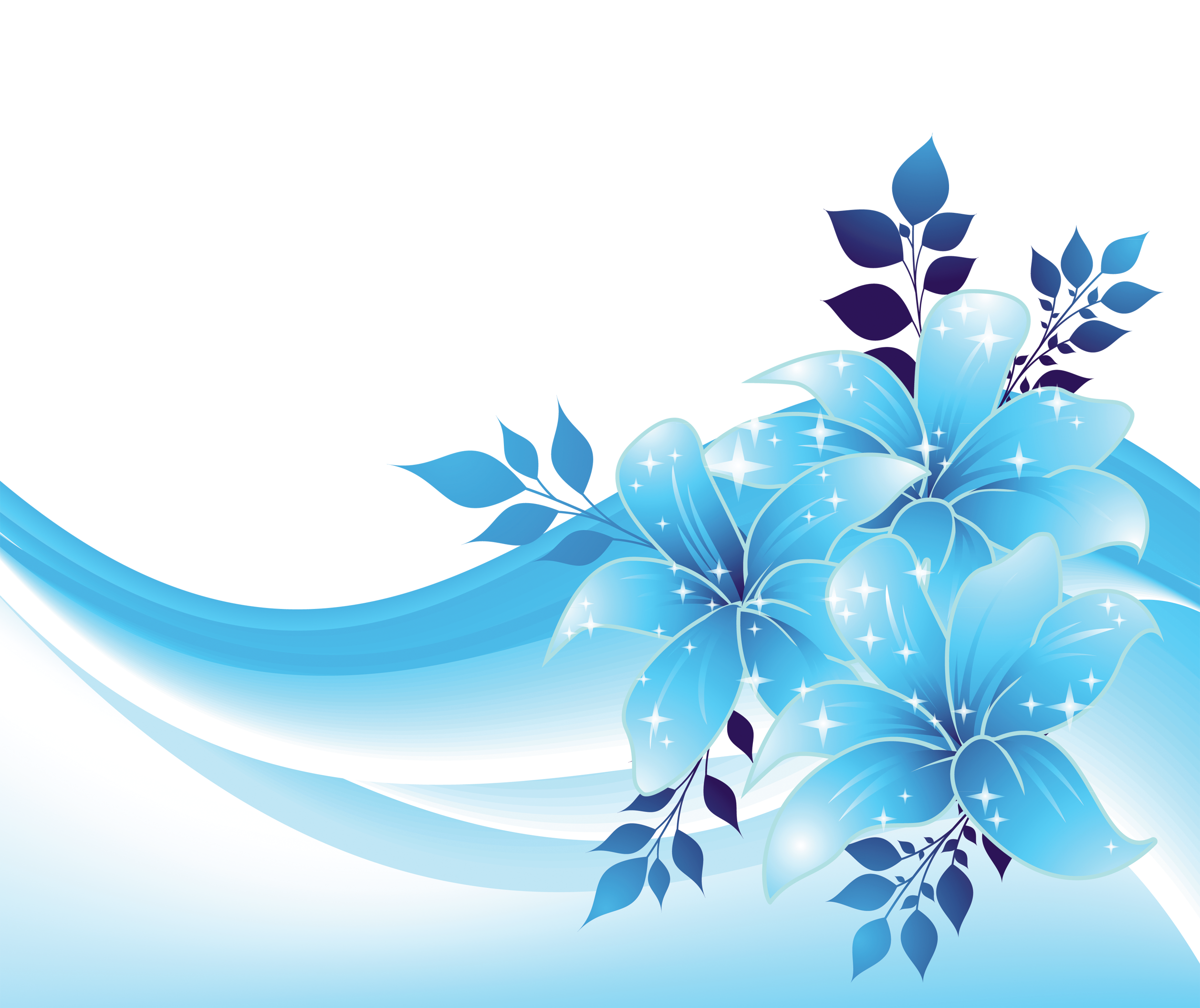 Free blue flower clipart clipart freeuse download Blue Flowers Images Group with 55 items clipart freeuse download
