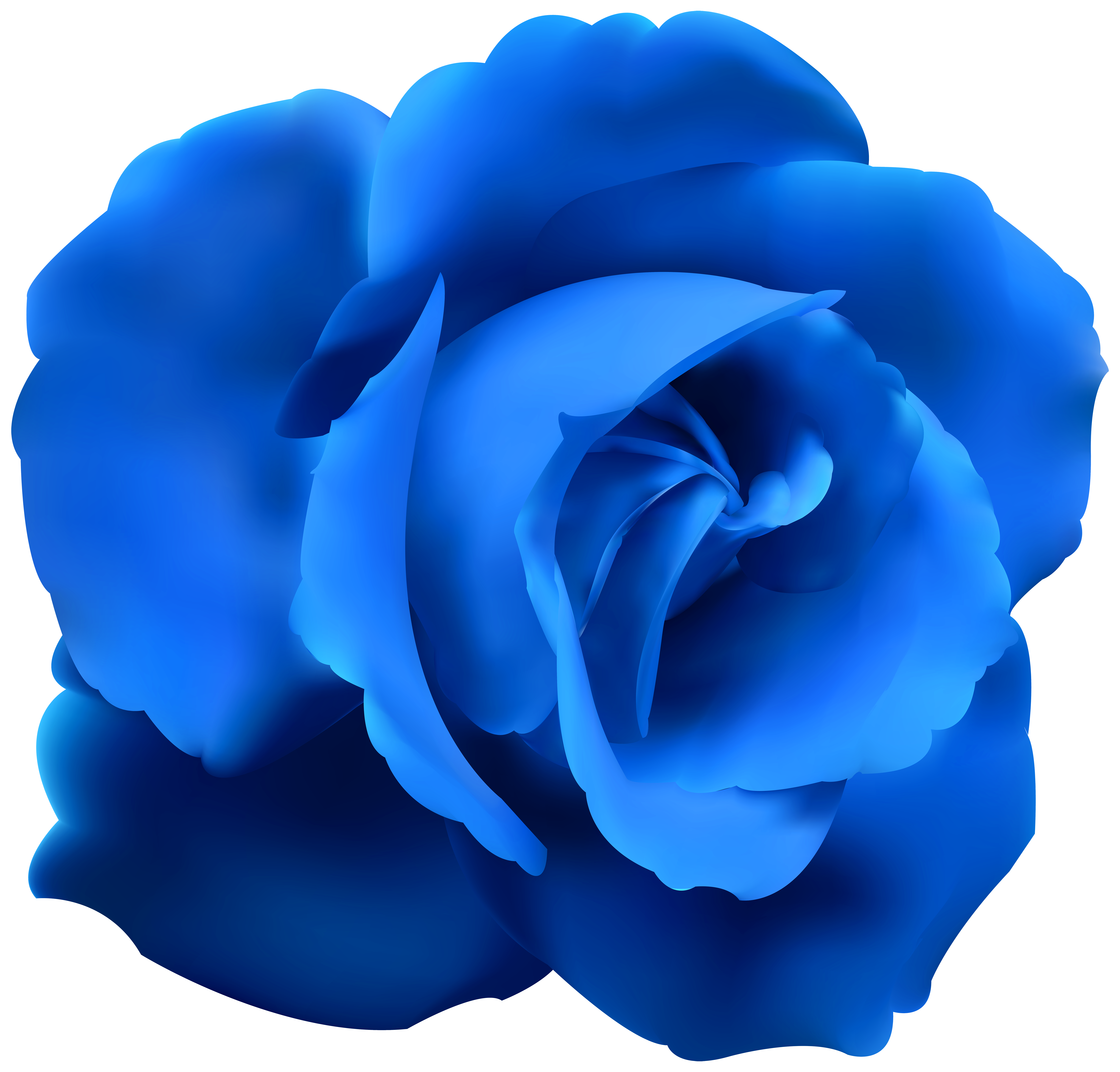 Free blue flower clipart vector black and white stock Blue Rose Clip Art PNG Image | Gallery Yopriceville - High-Quality ... vector black and white stock