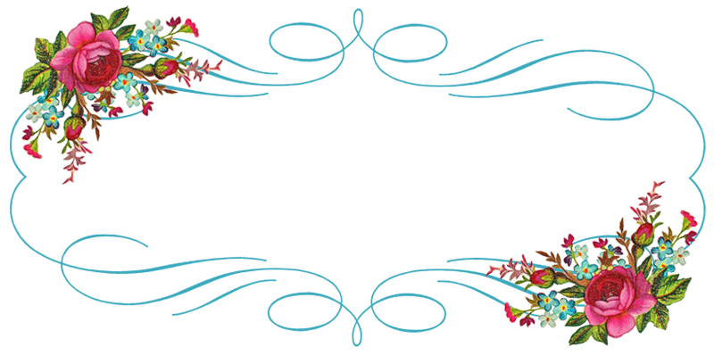 Free blue scrolled floral design clipart header clip royalty free 4 Free Vintage Shabby Banners | Printables/Ephemera | Vintage ... clip royalty free