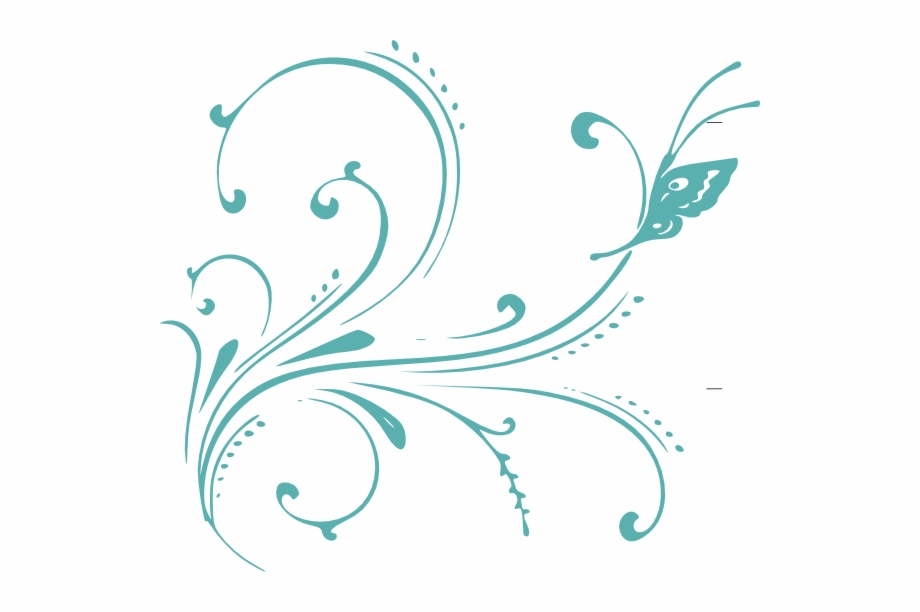 Free blue scrolled floral design clipart header clip art black and white library Original Png Clip Art File Transparent Blue Scroll - Vector Clip Art ... clip art black and white library