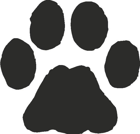 Free bobcat paw print clipart banner royalty free Free Bobcat Paw Print Outline, Download Free Clip Art, Free Clip Art ... banner royalty free
