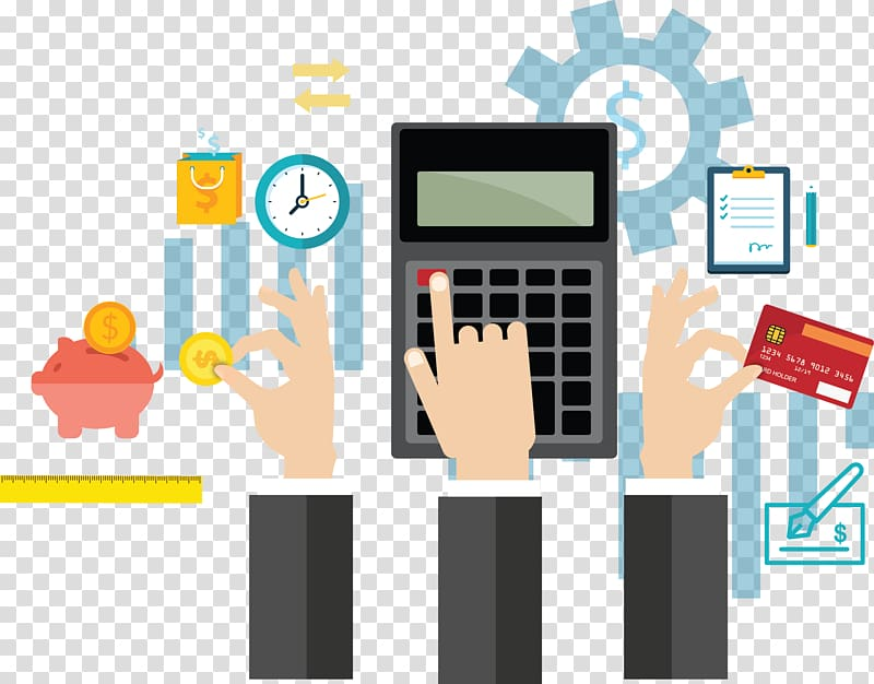 Free bookkeeping and virtual office services images and clipart image royalty free library Calculator illustration, Financial accounting Business Management ... image royalty free library