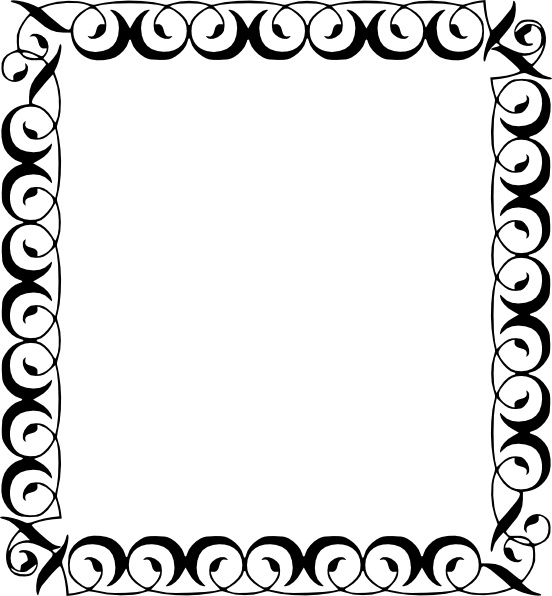 Prom corner clipart png stock Free border clipart download clipground - ClipartBarn png stock