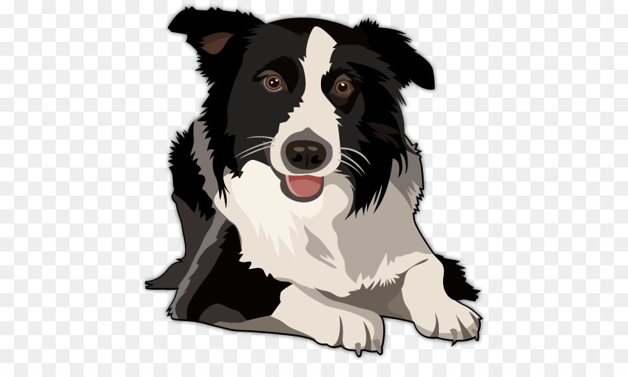 Free border collie clipart svg transparent library Golden Retriever Background png download - 504*521 - Free ... svg transparent library