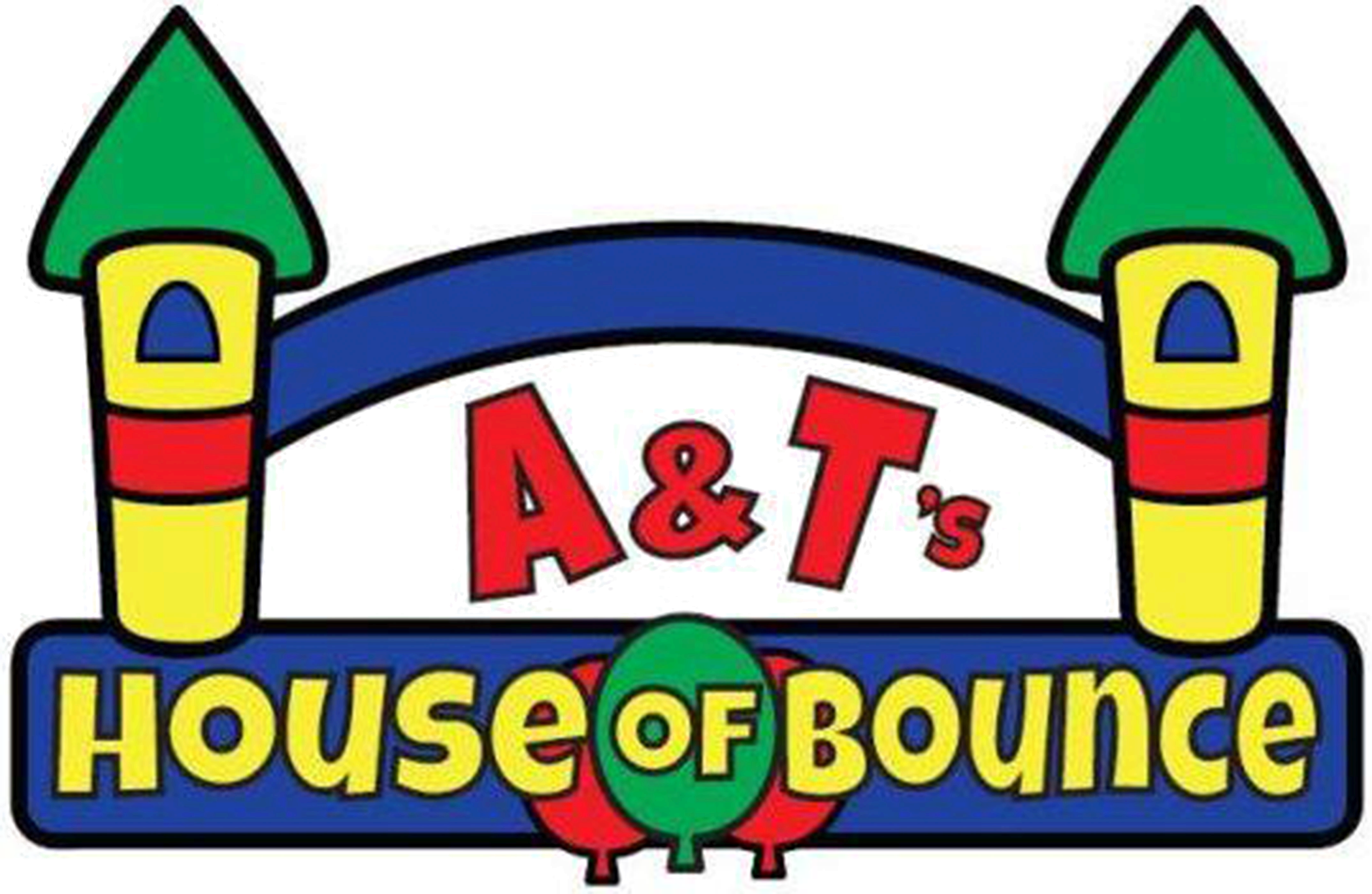 Free bounce house clipart picture library Party Rentals & Bounce Houses   A&T's House of Bounce picture library