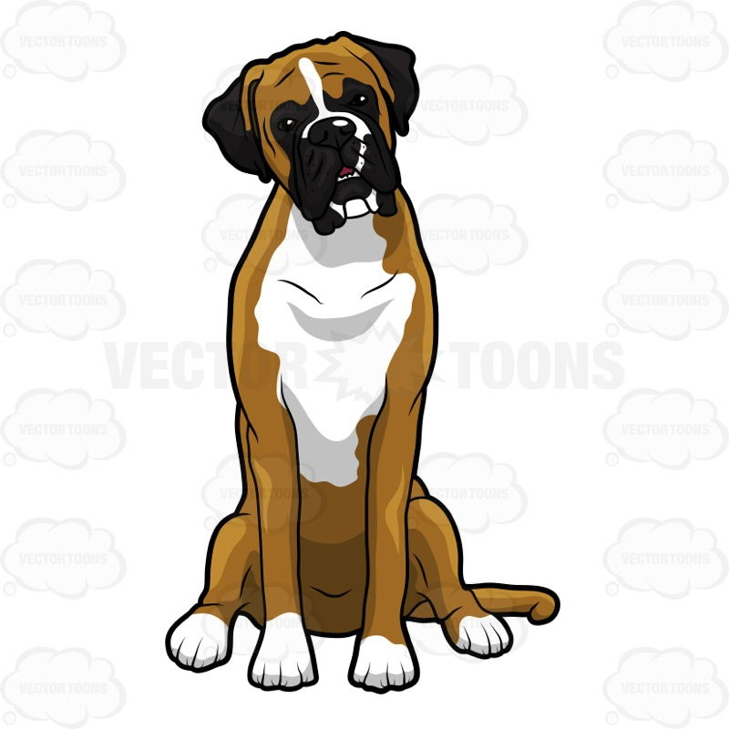 Free boxer dog clipart clip black and white download 39+ Boxer Dog Clipart | ClipartLook clip black and white download