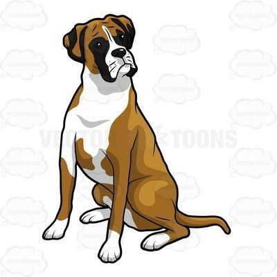 Free boxer dog clipart png library download Boxer dog clipart free 1 » Clipart Portal png library download
