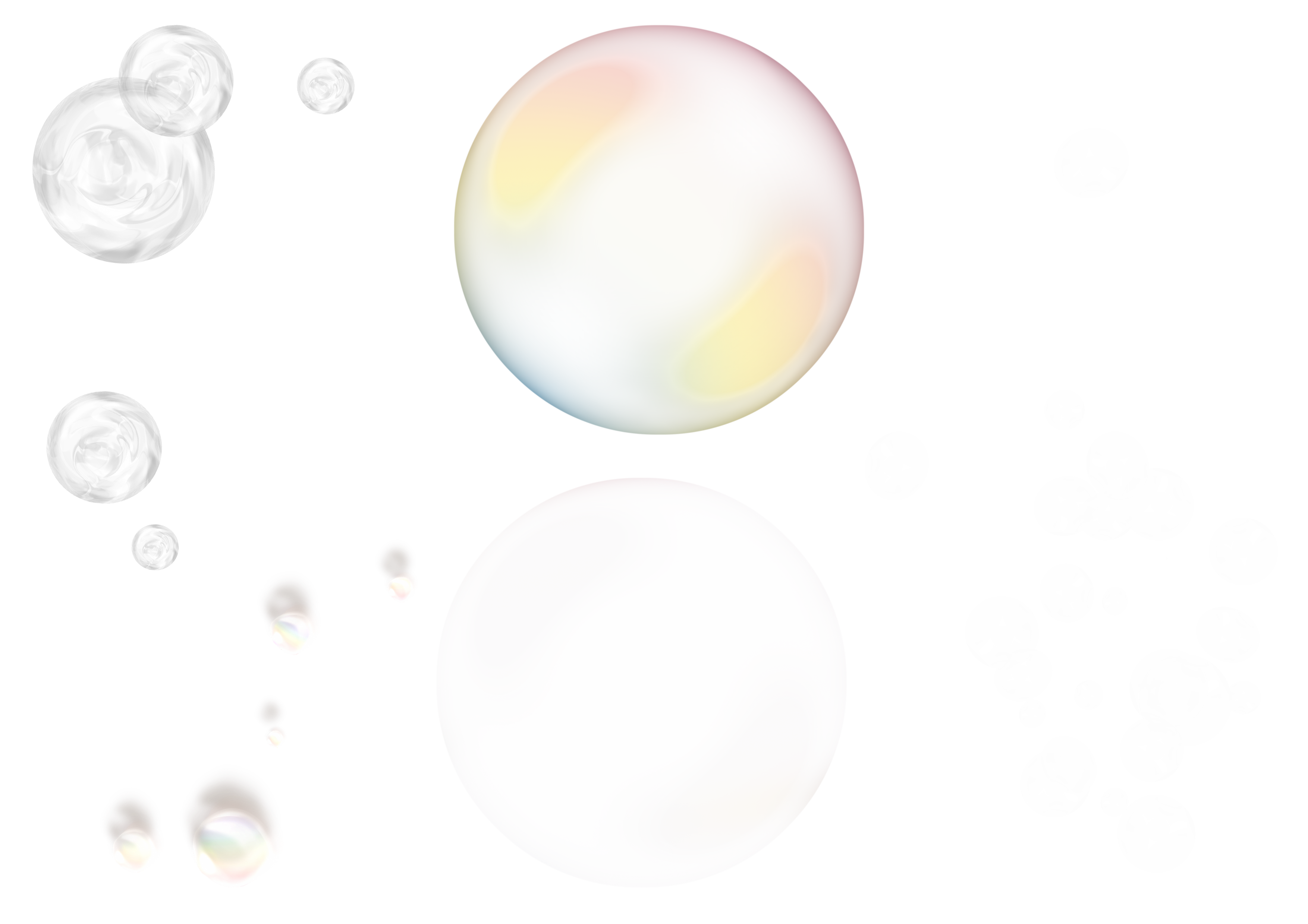 Free bubble overlay clipart image library download free Bubbles Photoshop Overlays: Realistic Soap air bubble Photo ... image library download