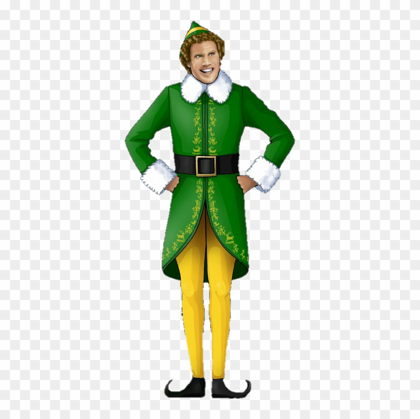 Free buddy the elf clipart. Willferrell hd png download