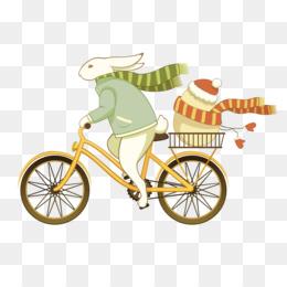 Free bunny riding bicycle clipart graphic royalty free Free download Easter Bunny Bicycle Easter egg Here Comes the Easter ... graphic royalty free