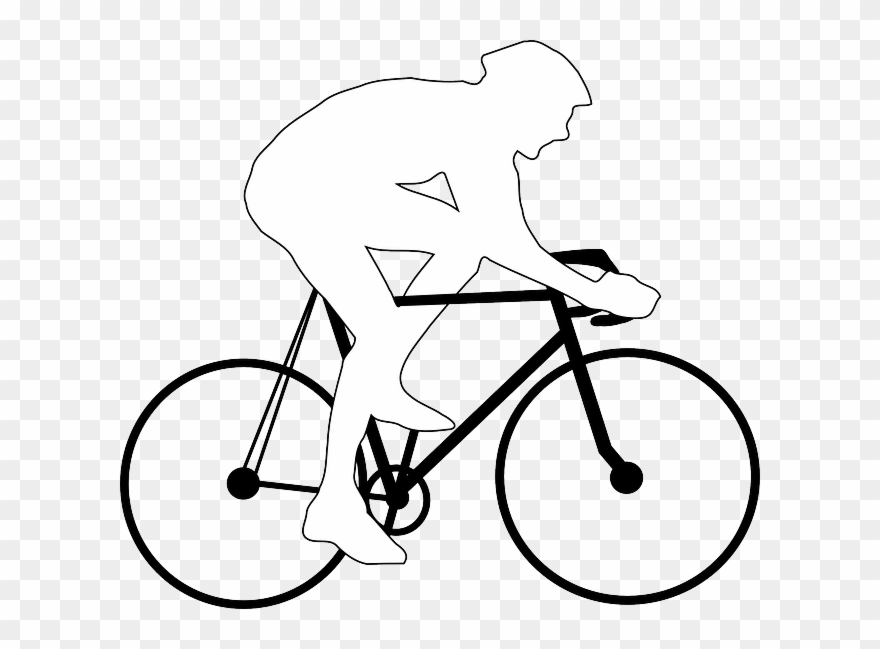 Free bunny riding bicycle clipart banner freeuse download Free Pictures Racing Bicycle - Draw A Person On A Bike Clipart ... banner freeuse download