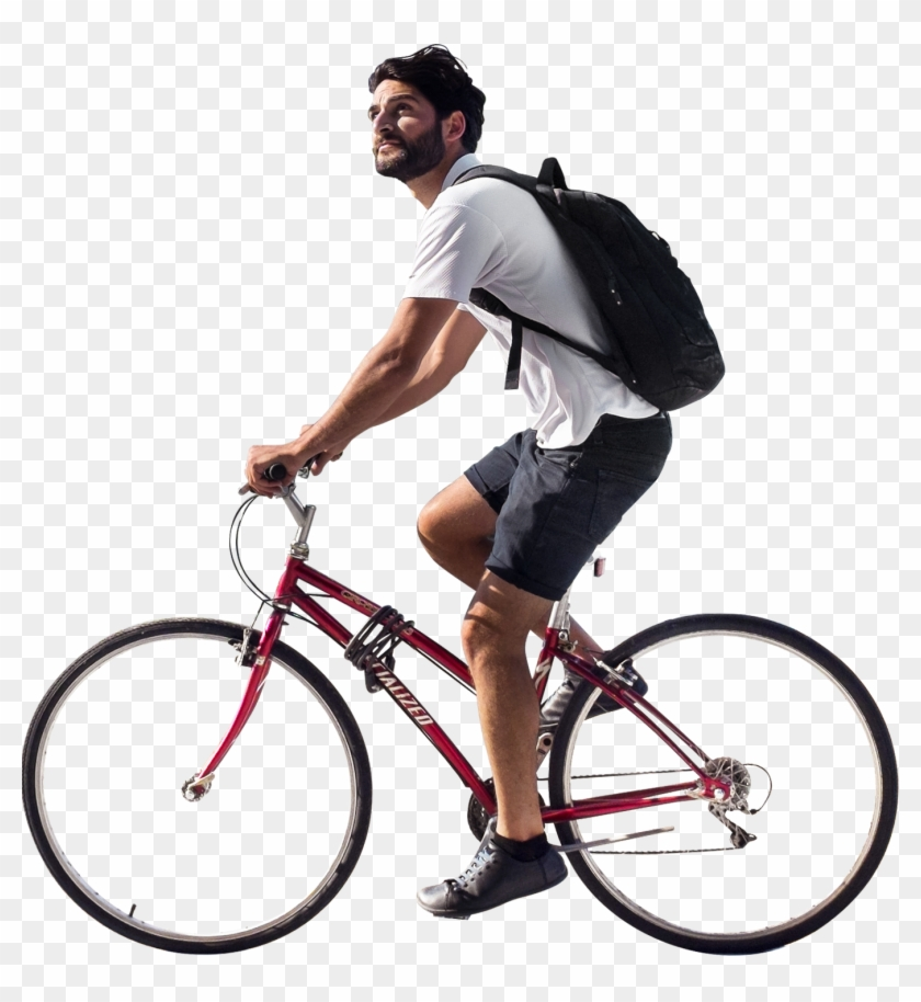 Free bunny riding bicycle clipart clipart freeuse stock Person Riding A Bike Png & Free Person Riding A Bike.png Transparent ... clipart freeuse stock