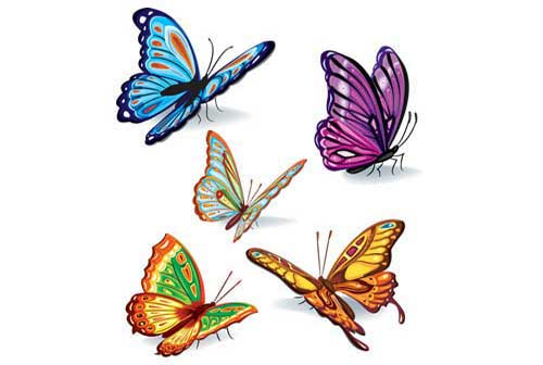 Free butterfly clipart for commercial use clipart stock Butterfly Clip Art: 56 Vector Graphics to Download clipart stock