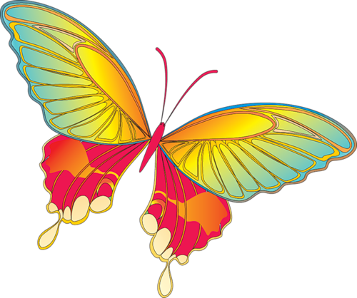 Free butterfly clipart png jpg transparent Cartoon_Yellow_Butterfly_Clipart.png?m=1365717600 jpg transparent