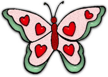 Free butterfly hearts clipart clipart download Clipart heart butterfly - ClipartFox clipart download