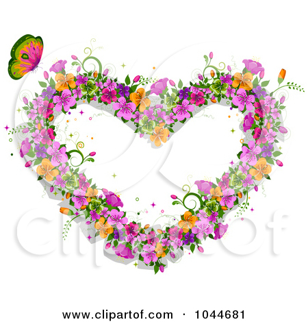 Free butterfly hearts clipart picture library download Free butterfly heart clipart - ClipartFest picture library download