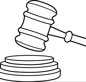 Free b&w clipart gavel clip free library Gavel Clipart Black And White | Free Images at Clker.com - vector ... clip free library