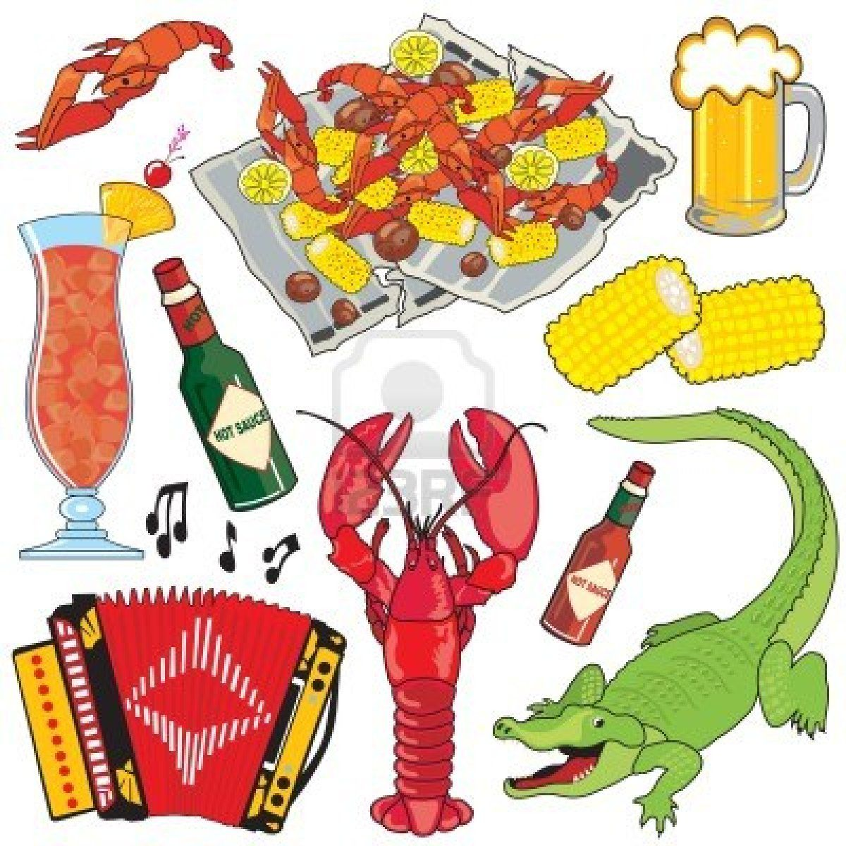 Free cajun clipart image free library Stock Vector   city images   Cajun recipes, Clip art, New orleans ... image free library