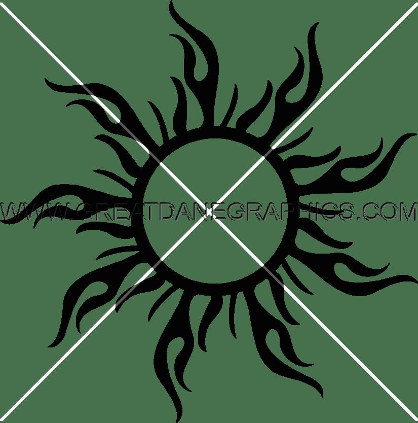 Free california sun clipart clip black and white download California Sun   Production Ready Artwork for T-Shirt Printing clip black and white download