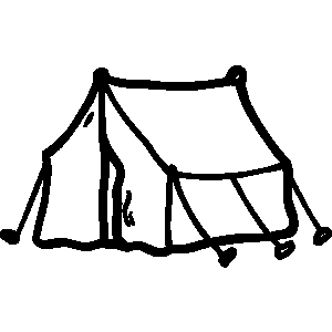 Free camping images clipart black and white transparent download Free Camping Tent Clipart Black And White, Download Free Clip Art ... transparent download