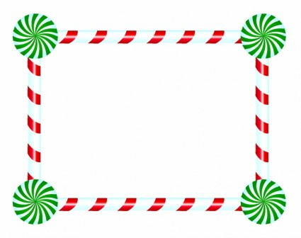 Candy cane clipart frame clip art black and white library Free Free Candy Cane Border, Download Free Clip Art, Free Clip Art ... clip art black and white library