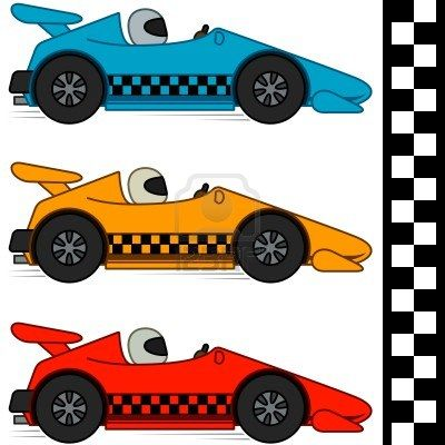 Free car racing clipart vector freeuse Stock Vector | retirement | Race cars, Car silhouette, Free cars vector freeuse