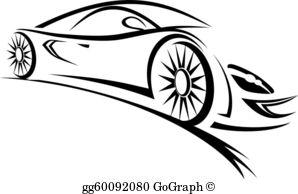 Free car silhouette clipart image transparent library Car Silhouette Clip Art - Royalty Free - GoGraph image transparent library