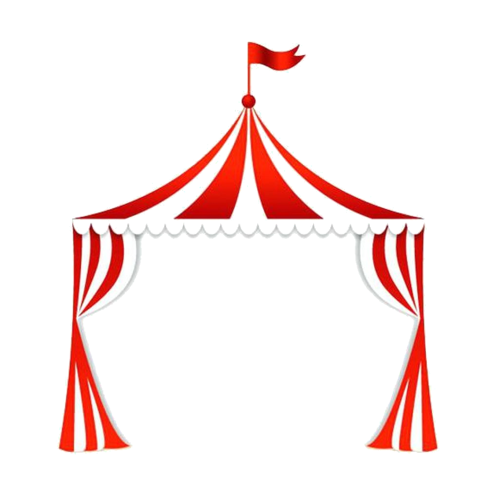 Free carnival clipart images jpg black and white library Carnival Tent Clipart Clip Art Clown Royalty Free Illustration Music ... jpg black and white library