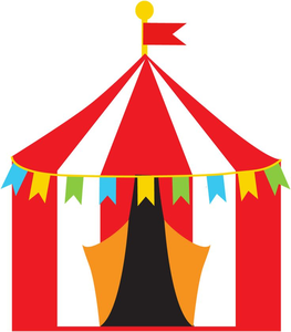 Free carnival tent clipart clip royalty free Free Carnival Tent Clipart | Free Images at Clker.com - vector clip ... clip royalty free