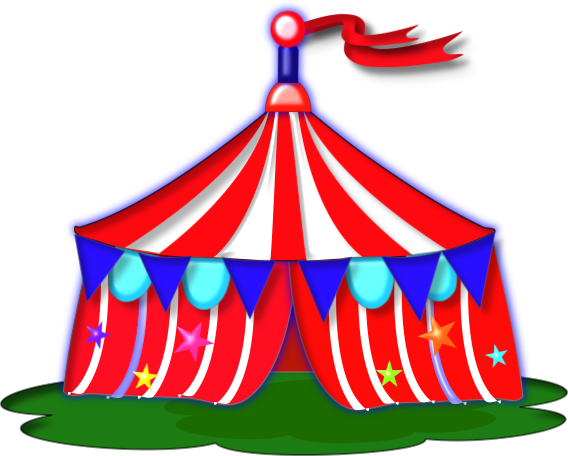 Free carnival tent clipart. Tents download clip art