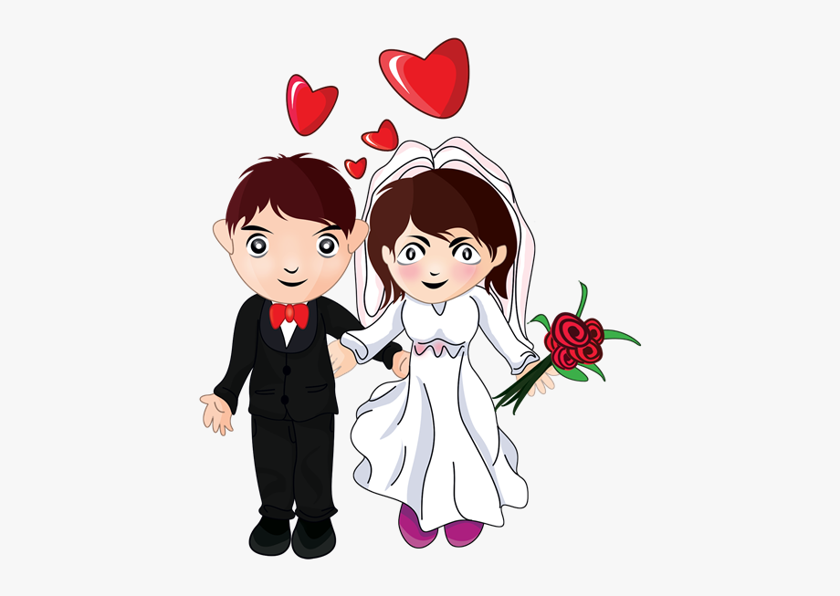 Free cartoon bride and groom clipart clipart library stock Bride And Groom Clipart - Many Many Congratulations On Your Wedding ... clipart library stock