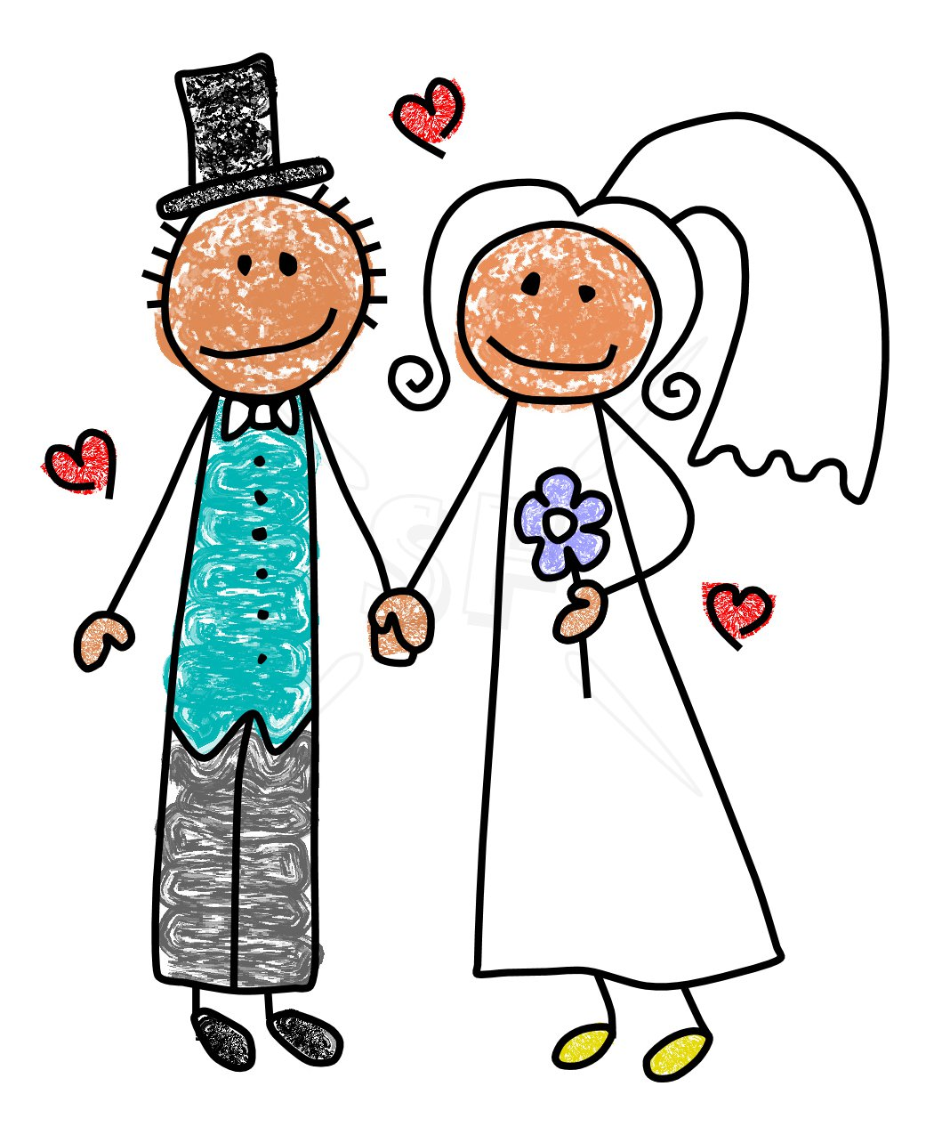 Free cartoon bride and groom clipart banner 22+ Clipart Bride And Groom | ClipartLook banner