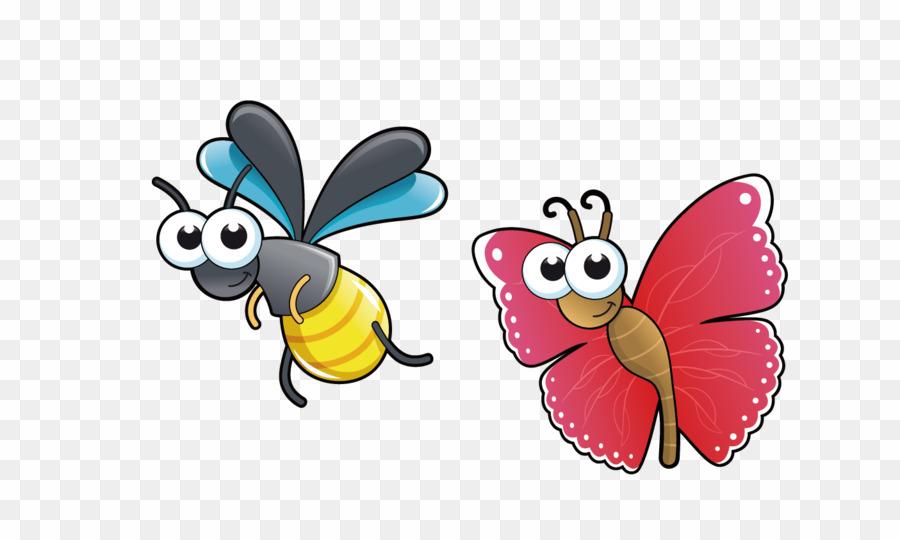 Free cartoon bug clipart transparent download Cartoon Bugs PNG Insect Royalty-free Clipart download - 1405 * 836 ... transparent download