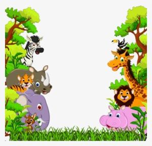 Free cartoon jungle animal clipart png royalty free stock Jungle Animals PNG, Transparent Jungle Animals PNG Image Free ... png royalty free stock