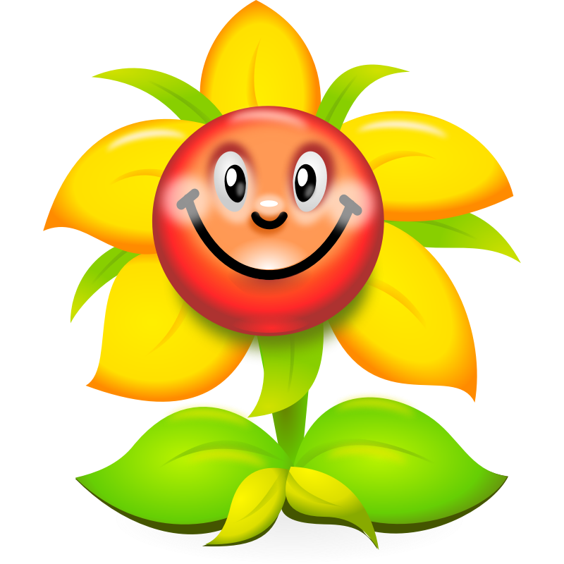 Free cartoon pictures of flowers jpg library stock Free clipart cartoon flowers - ClipartFest jpg library stock