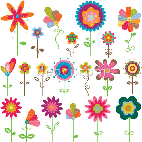 Free cartoon pictures of flowers graphic royalty free download Free cartoon pictures of flowers - ClipartFest graphic royalty free download