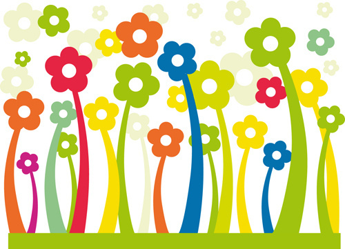 Free cartoon pictures of flowers