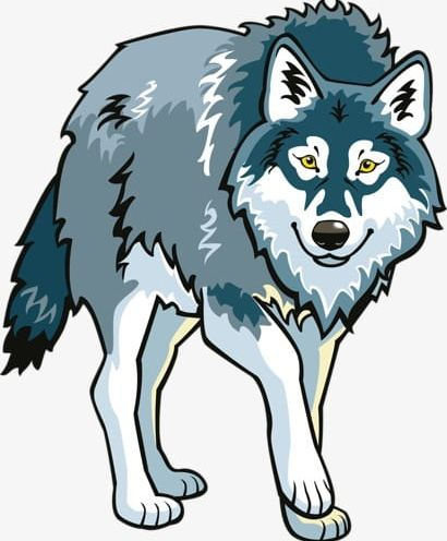 Png animals . Free cartoon wolf clipart