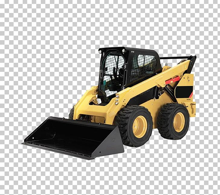 Caterpillar Inc. Skid-steer Loader Heavy Machinery PNG, Clipart ... vector transparent