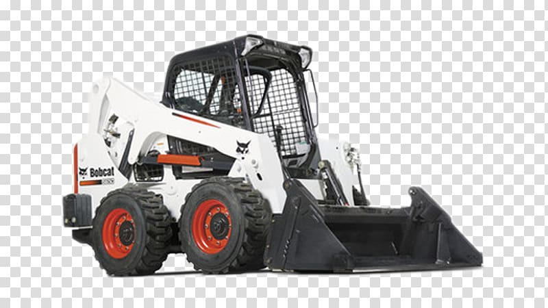 Skid-steer loader Bobcat Company Machine Tracked loader, bucket ... picture royalty free