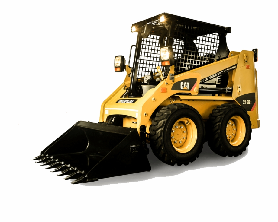 Free cat trac skid steer loader png clipart banner freeuse Skid Steer Loader - Caterpillar 236d Free PNG Images & Clipart ... banner freeuse