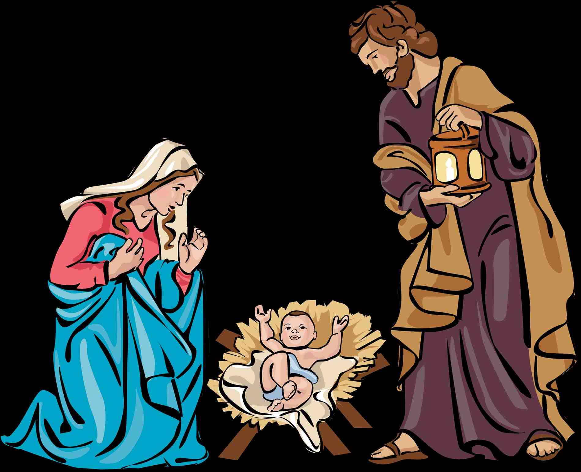 Download best . Free catholic christmas clipart
