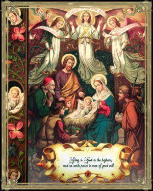Free catholic christmas clipart. Clip art manger scene