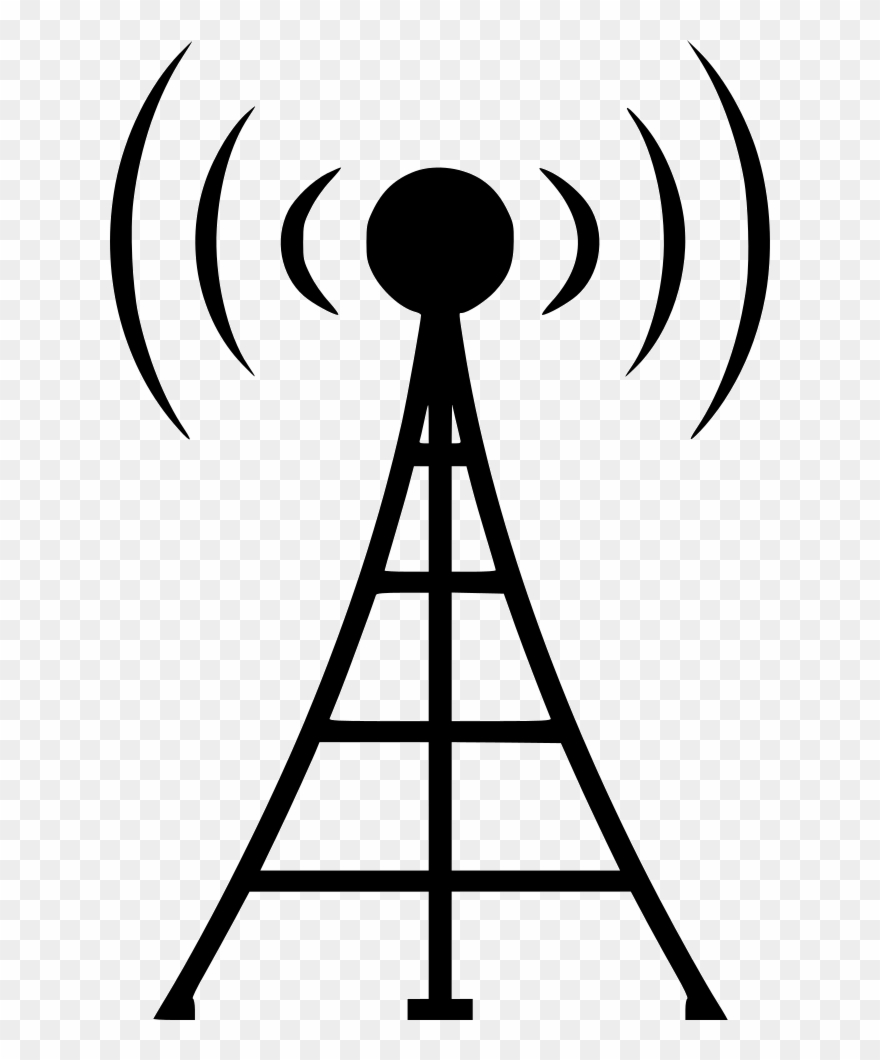 Free cell phoe tower clipart black and white image royalty free library Clipart Telephone Art - Cell Phone Tower Png Transparent Png ... image royalty free library