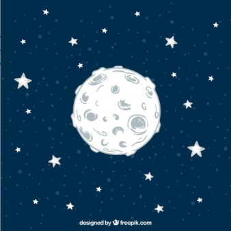 Free chalk moon and stars clipart jpg transparent Moon Vectors, Photos and PSD files | Free Download jpg transparent