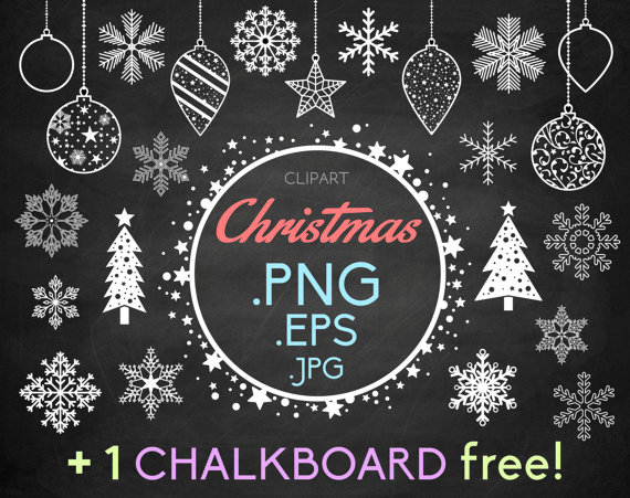 Free chalkboard clip art banner free download Free christmas chalkboard clipart - ClipartFest banner free download