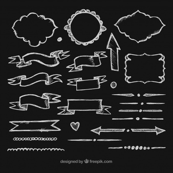 Free chalkboard clipart banner freeuse stock Chalk Vectors, Photos and PSD files | Free Download banner freeuse stock
